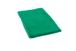 Dark green terry towel 50*70 cm