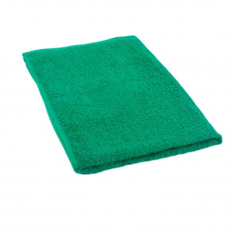 Полотенце тёмно-зелёное 50*70 см