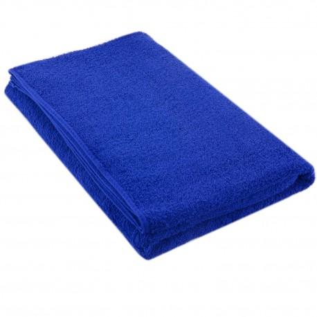Полотенце синее 75*150 см