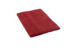 Burgundy red terry towel 50*70 cm