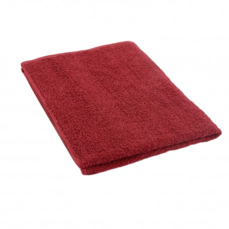Burgundy red terry towel 50*70 cm