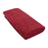 Полотенце-одеяло бордовое красное 100*200 см