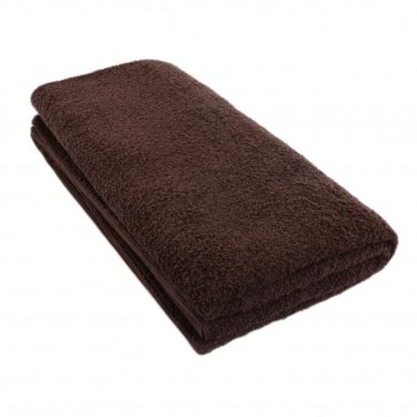 Terry duvet dark brown 100*200 cm