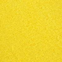 Yellow terry towel 50*70 cm