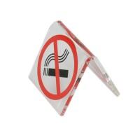 Не курить - табличка на стол