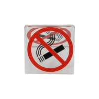 """No-smoking"" table sign"