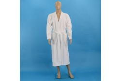 Terry bathrobe L white