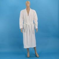 Terry bathrobe L white