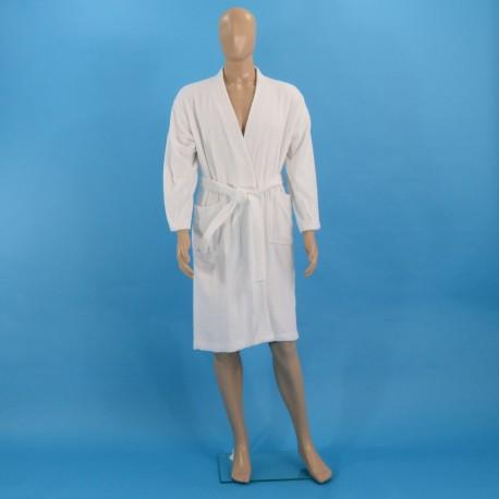 Mахровый халат M белый