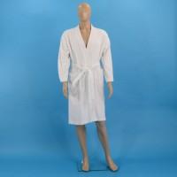 Terry bathrobe M white