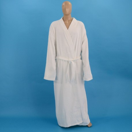 Terry bathrobe XXXL white