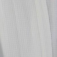 Waffle bathrobe XL white