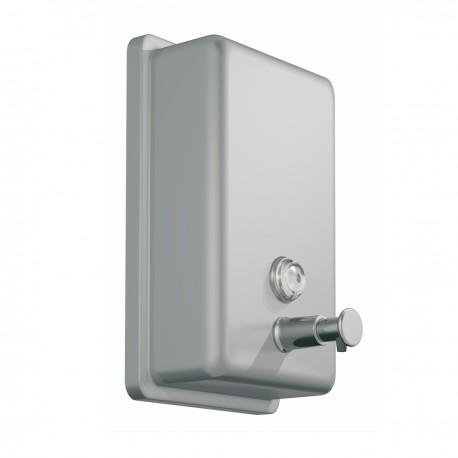 Soap dispenser 850ml, metal, mat