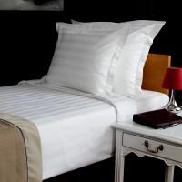 Pillow case (oxford) 53*63cm+4cm, stripe 3cm