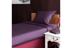 Bed sheet 180*270 cm Violet single