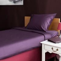 Bed sheet 180*270 cm violet