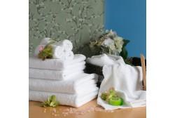 Terry towel 50*70 cm white