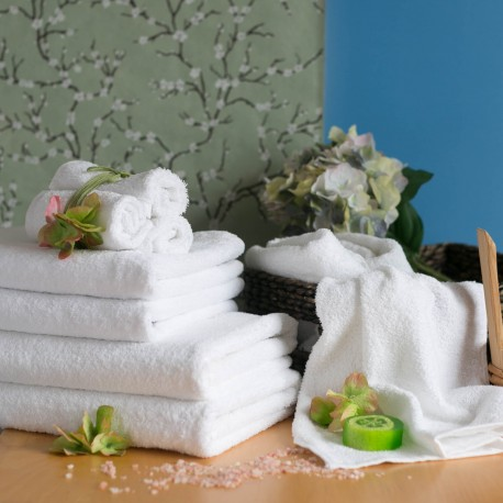 Terry towel 50*100 cm white