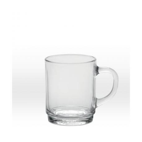 Transparent mug 26 cl, tempered glass