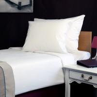Bed sheet 185*320 cm white
