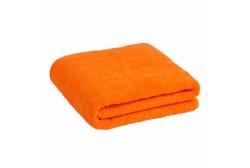Большое оранжевое полотенце 90*170 см