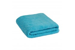 Большое бирюзовое синее полотенце 90*170 см