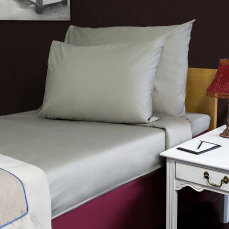 Bed sheet 160*270 cm grey single