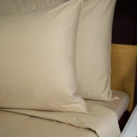 Bed sheet 160*270 cm beige single