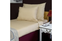Bed sheet 250*270 cm Beige double