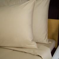 Duvet cover 150*220 cm beige single