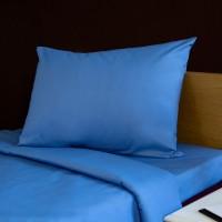 Наволочка 52*62 см, светло-синый