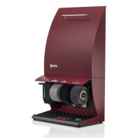 Shoe polisher machine Elegance Couleur plus, burgundy red