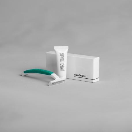 Shaving kit White & Black