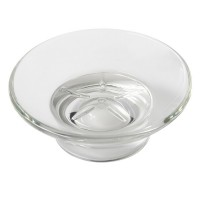 White satin glass bowl for 3059A New York