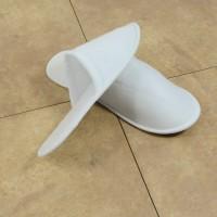 Mахровые тапочки закр. носком (подошва 3 мм)