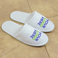Logoed slipper, closed toe (5mm sole)