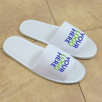 Logoed slipper, open toe (5 mm eva sole)