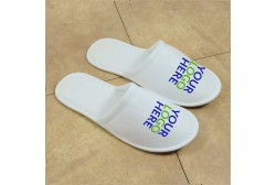 Logoed slipper, closed toe (3 mm sole)