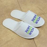 Logoed slipper, closed toe (3 mm sole)
