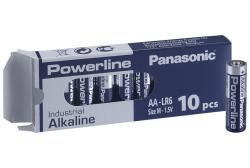 Batteries 10 pcs, Panasonic
