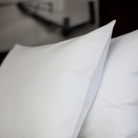 Duvet cover 150*230, Hilton stripe 4 mm single