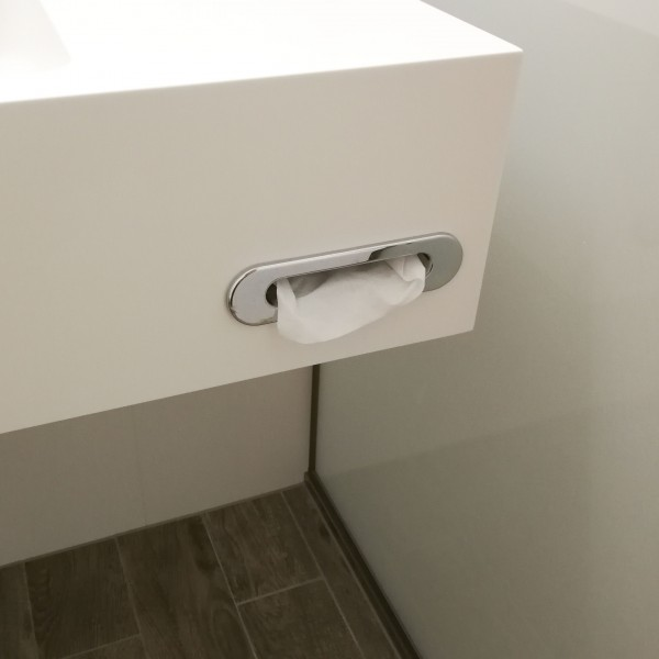 Tissue Holder Recessed For Vanity Basins Hotellitarbed