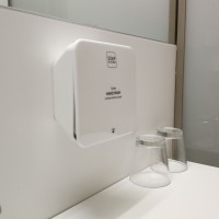 Wall bracket for hand wash Soap-In-A-Box
