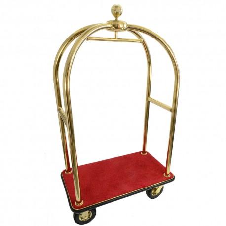 Тележка для чемодана золотой