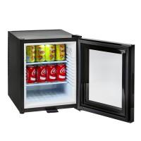 Мини-бар стеклянной двер 30 L, чёрный