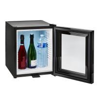 Minibaar klaasuksega 30 L, must
