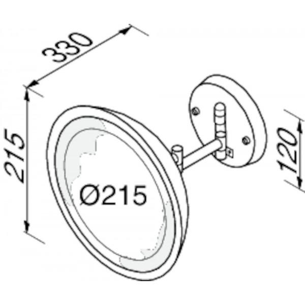 c759809db08 LED valgustusega seinapeegel, Geesa · LED valgustusega seinapeegel, Geesa