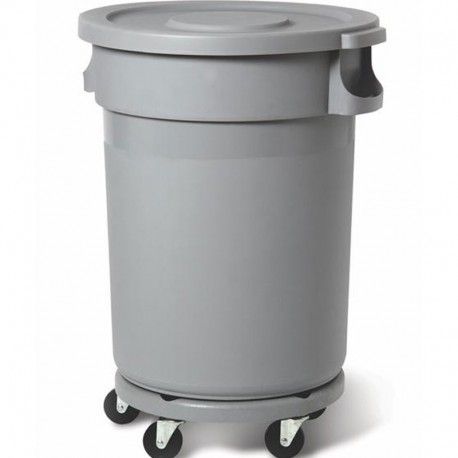 Plastic container 168L, grey