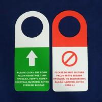 Door sign - Please don´t disturb, plastic