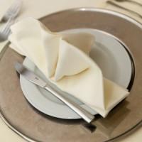 Napkin 50*50 cm, beige, 100% cotton